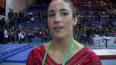 Aly Raisman On Advice From Martha And Mihai And The Road To Rio - Event Finals, Jesolo 2016