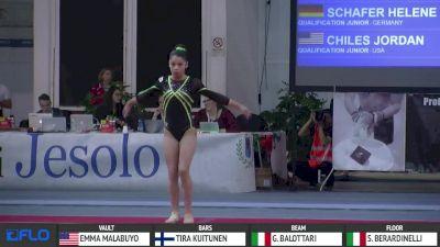 Sara Berardinelli - Floor, Italy - Jr AA, Jesolo 2016