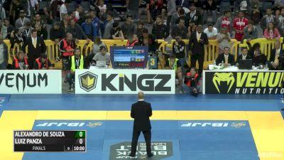 Luiz Panza vs Alexandro Ceconi Super Heavyweight Final IBJJF 2016 Pans