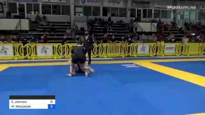 Erin Johnson vs Maria Malyjasiak 2021 Pan IBJJF Jiu-Jitsu No-Gi Championship