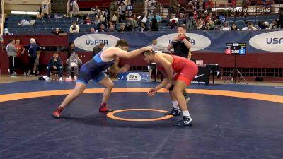 125 kg Prelims - Youssif Hemida, New York Athletic Club vs Garrett Ryan, Sunkist Kids Wrestling Club