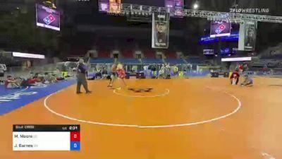285 lbs Consolation - Matthew Moore, Colorado vs Jacob Barnes, Oregon