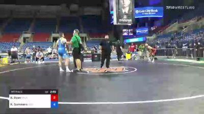 86 kg Rr Rnd 5 - Kyle Ryan, Oklahoma vs Kyle Summers, Missouri