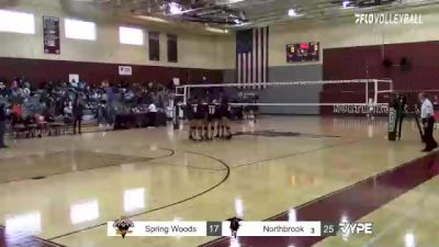 Replay: Northbrook vs Spring Woods | Oct 22 @ 6 PM
