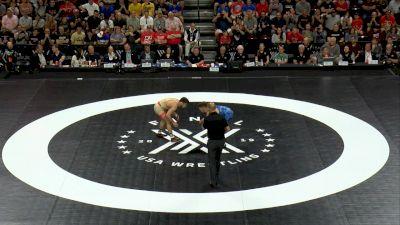65 kg 1 Of 3 - Yianni Diakomihalis, Titan Mercury Wrestling Club vs Zain Retherford, Nittany Lion Wrestling Club