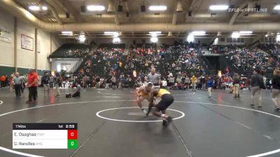 Prelims - Efe Osaghae, Fort Hays State vs Casey Randles, Wyoming