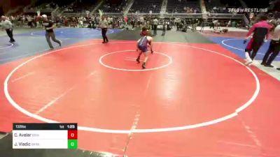 132 lbs Semifinal - Cesar Avelar, Grindhouse vs Jalen Vladic, Darkhorse WC