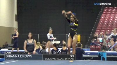 Brianna Brown - Floor, Michigan - Elevate the Stage - Toledo (NCAA)