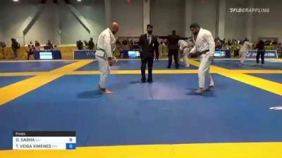 OMAR SABHA vs THIAGO VEIGA XIMENES 2021 American National IBJJF Jiu-Jitsu Championship