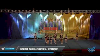 Double Down Athletics - Mystique [2021 L4 Senior - D2 - Small Day 2] 2021 The STATE DI & DII Championships