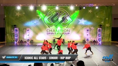 Iconic All Stars - Junior - Hip Hop [2021 Junior - Hip Hop - Small Day 2] 2021 CSG Dance Nationals