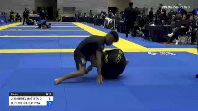 JOÃO GABRIEL BATISTA DE SOUSA vs DIEGO OLIVEIRA BATISTA 2021 World IBJJF Jiu-Jitsu No-Gi Championship