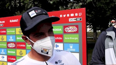 From Canada, James Piccoli's Family Arrives For Vuelta a España Support
