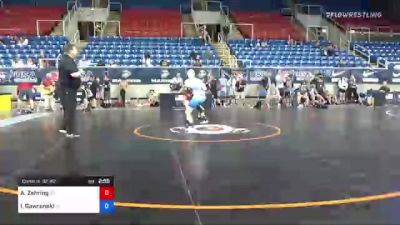 120 lbs Consi Of 32 #2 - Austin Zehring, Virginia vs Isaac Gawronski, North Carolina