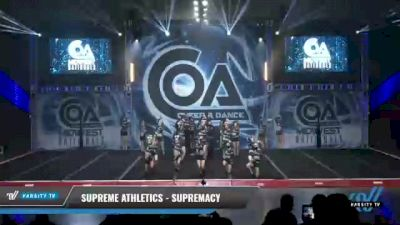 Supreme Athletics - Supremacy [2021 L3 Senior Coed Day 1] 2021 COA: Midwest National Championship