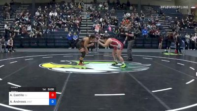 191 lbs Final - Alexandra Castillo, Campbellsville (W) vs Agatha Andrews, Jamestown (W)
