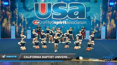 California Baptist University [2020 All-Girl Show Cheer 4-Year College Day 2] 2020 USA Collegiate Championships