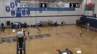 Replay: Wyoming vs Taylor   Sep 9 @ 7 PM