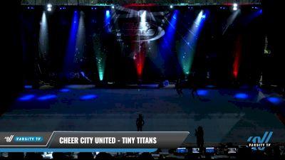 Cheer City United - TINY TITANS [2021 L1 Tiny Round] 2021 The U.S. Finals: Pensacola