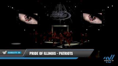 Pride of Illinois - Patriots [2021 L2.2 Junior - PREP - D2 Day 1] 2021 The U.S. Finals: Kansas City