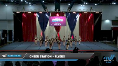 Cheer Station - Flyers [2021 L4 Senior Coed - D2 Day 2] 2021 The American Spectacular DI & DII