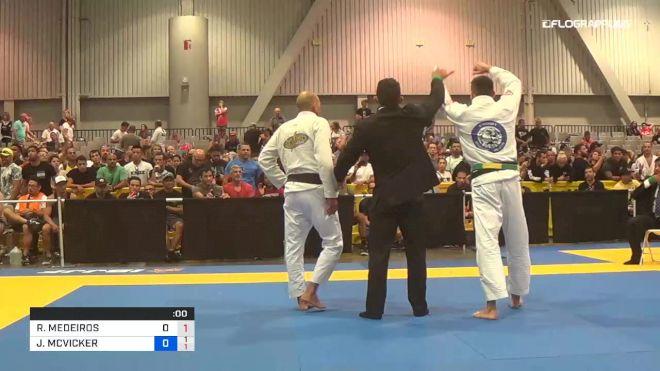 RODRIGO MEDEIROS vs JACKSON MCVICKER 2019 World Master IBJJF Jiu-Jitsu Championship