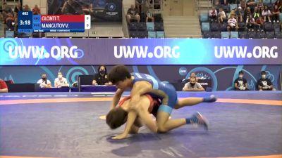55 kg 1/2 Final - Tamazi Glonti, Georgia vs Valerii Mangutov, Russia