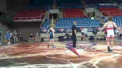120 lbs Round Of 128 - Jett Strickenberger, Colorado vs Lane Gilbert, Indiana