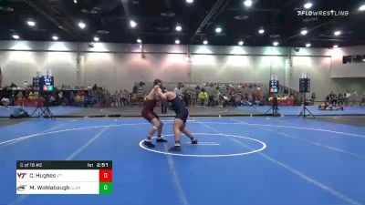 174 lbs Consolation - Cody Hughes, Virginia Tech vs Max Wohlabaugh, Clarion