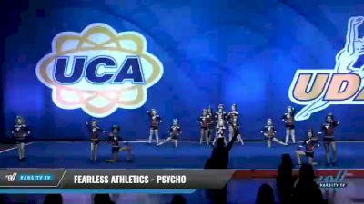 Fearless Athletics - Psycho [2020 L2 Junior - Small - D2 Day 1] 2020 UCA Smoky Mountain Championship