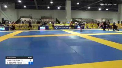 Jacob Ryan Tremblay vs CHRISTOPHER EDWARD NUNEZ 2021 American National IBJJF Jiu-Jitsu Championship