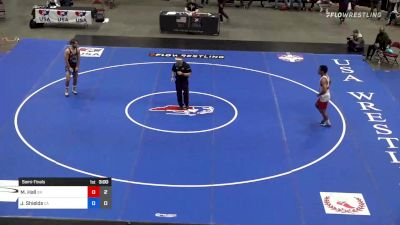 86 kg Semifinal - Mark Hall, Team Simon Roberts vs Josh Shields, Team Carl Adams