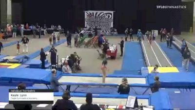 Kayla  Lynn  - Individual Trampoline, Eagle Gymnastics Academy  - 2021 Region 3 T&T Championships