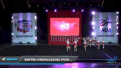 - Empire Cheerleading Prodigy Black [2019 Youth 2 Day 1] 2019 NCA North Texas Classic