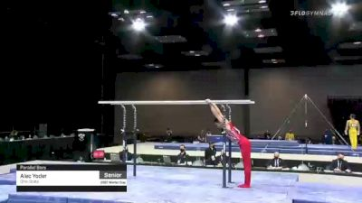 Alec Yoder - Parallel Bars, Ohio State - 2021 Winter Cup & Elite Team Cup