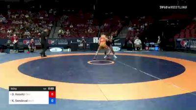 60 kg 3rd Place - Dylan Koontz, Titan Mercury Wrestling Club vs King Sandoval, Bandits Wrestling Club