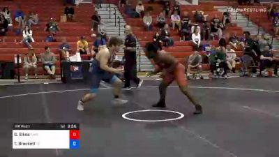 82 kg Prelims - George Sikes, New York Athletic Club vs Tommy Brackett, Tennessee