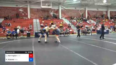 125 kg Prelims - Lee Herrington, Nebraska Golden Eagles Wrestling Club vs Keaton Kluever, Gopher Wrestling Club - RTC