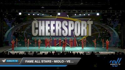 FAME All Stars - Midlo - Vengeance [2020 Senior Open Large Coed 6 Day 1] 2020 CHEERSPORT National Cheerleading Championship