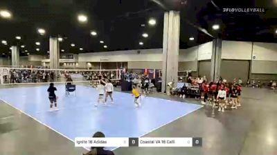 Ignite 16 Adidas vs Coastal VA 16 Calli - 2021 Capitol Hill Volleyball Classic