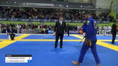 LEONARDO FERNANDES SAGGIORO vs GABRIEL MARANGONI DE OLIVEIRA 2020 European Jiu-Jitsu IBJJF Championship