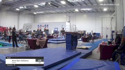 Nirel Bart-Williams - Vault, WOGA - 2021 Region 3 Women's Championships