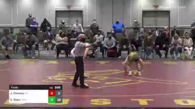 170 lbs Final - James Conway, MD vs Sammy Starr, WPIAL