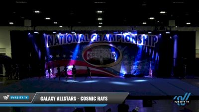 Galaxy AllStars - Cosmic rays [2021 L4 Senior - D2 Day 1] 2021 ACP: Tournament of Champions