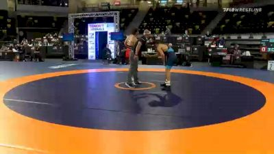 65 kg Prelims - Jaden Abas, Unattached vs Austin Gomez, Cyclone Regional Training Center C-RTC