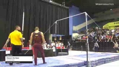 Mason McNeel - High Bar, Arizona State - 2021 Men's Collegiate GymACT Championships