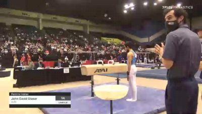 John David Glaser - Pommel Horse, SLGC - 2021 USA Gymnastics Development Program National Championships