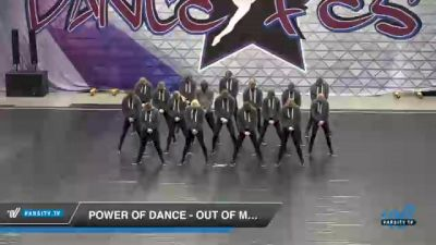 Power of Dance - Out Of My Mind [2021 Senior Coed - Hip Hop Day 2] 2021 Badger Championship & DanceFest Milwaukee