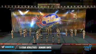 5 Star Athletics - Junior Onyx [2021 L3 Junior - D2 - Medium Day 2] 2021 South Florida DI & DII Nationals