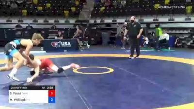61 kg Quarterfinal - Sean Fausz, TMWC/ SOCAL RTC vs Micky Phillippi, Pittsburgh Wrestling Club